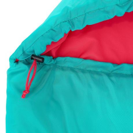 sac de couchage de bivouac randonn e trek enfant forclaz 10 vert quechua. Black Bedroom Furniture Sets. Home Design Ideas