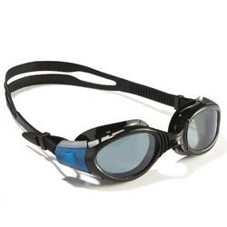Zwembril Futura Biofuse zwart blauw Speedo