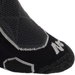 中筒登山健行襪。中筒襪兩雙入MH 500-黑色