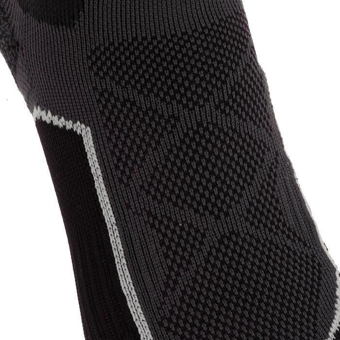 Chaussettes de randonnée montagne tiges mid. 2 paires Forclaz 500 noir