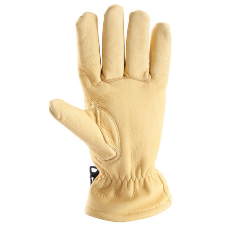 LEATHER MOUNTAINEERING GLOVES
