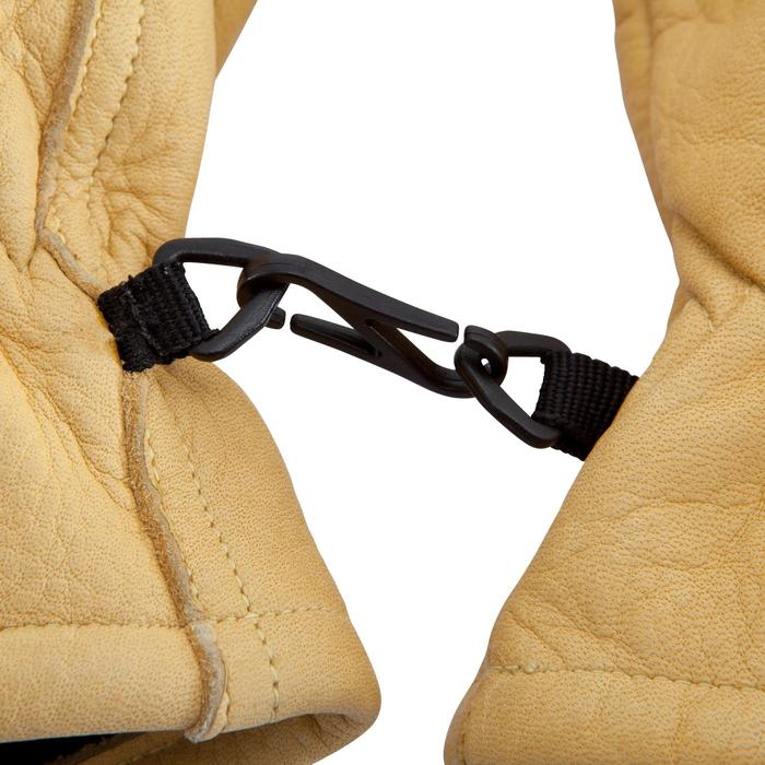 Bergsteiger-Handschuhe Leder