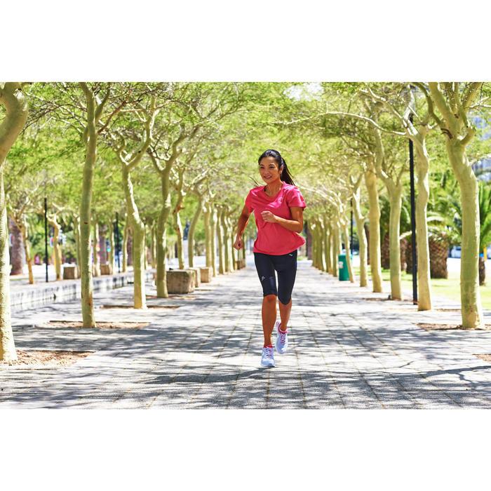 Laufshirt kurzarm Run Dry Damen rosa