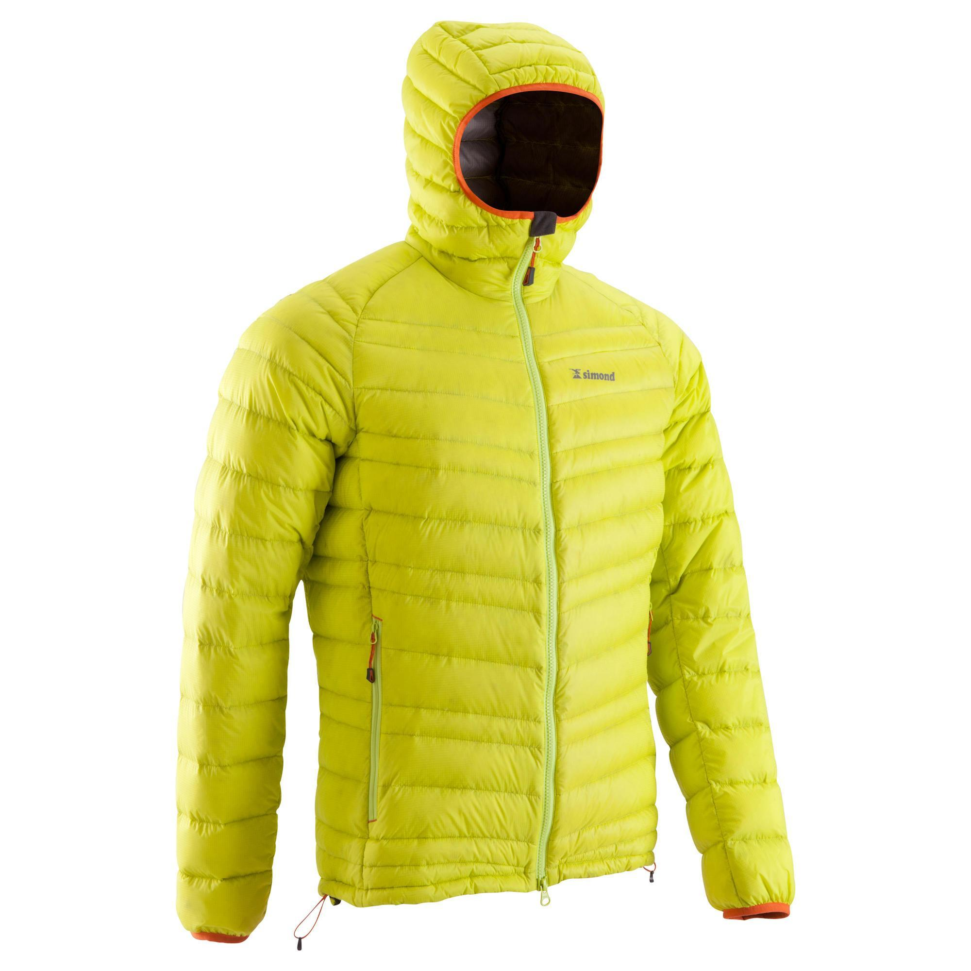 Men's Light Down Jacket - Lime | Simond