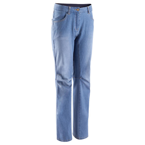 Jeansbroek dames 2 Used blauw - 708845