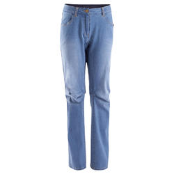 Jeansbroek dames 2 Used blauw - 708846