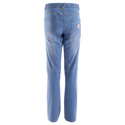 Jeansbroek dames 2 Used blauw - 708847