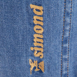 Jeansbroek dames 2 Used blauw - 708859