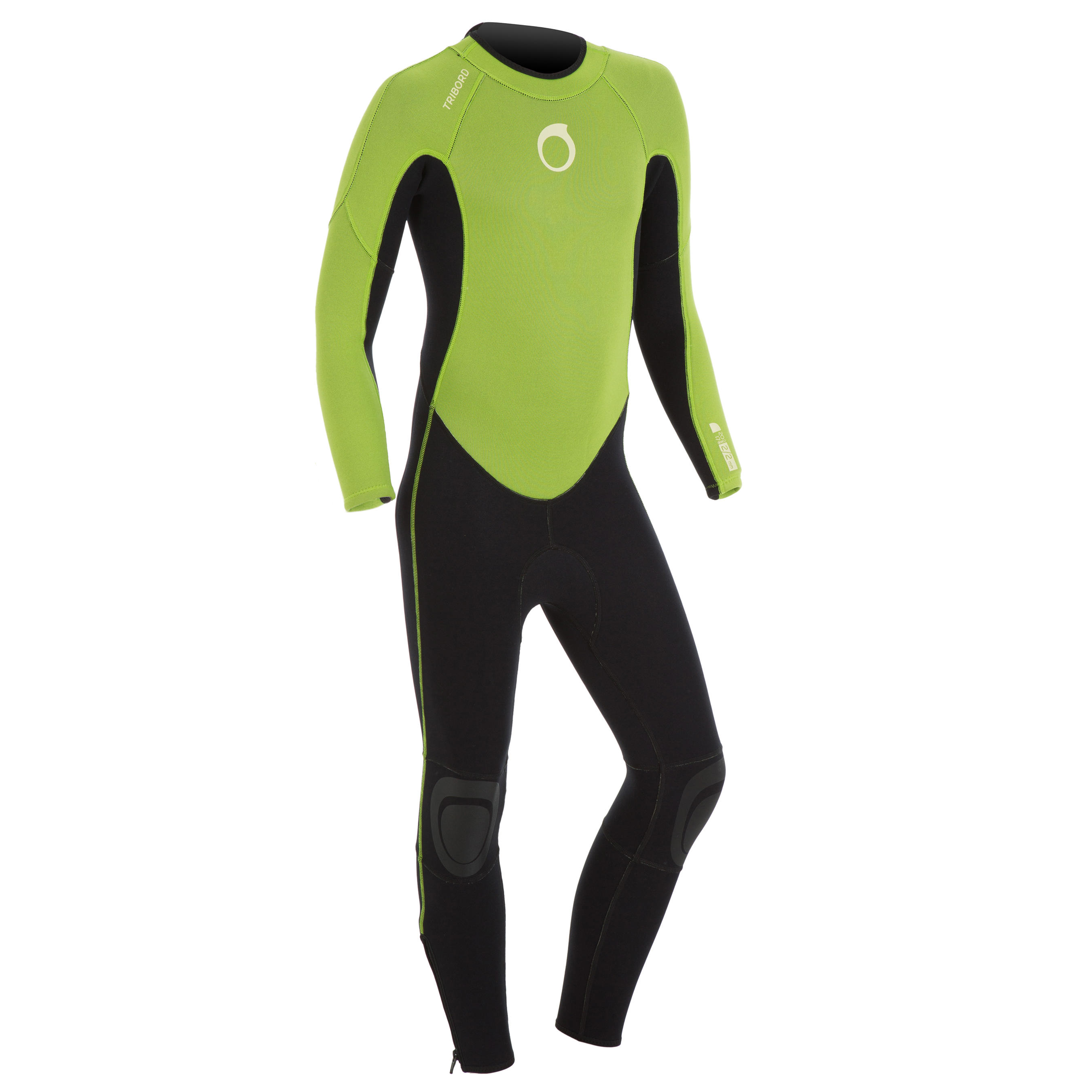 Traje Surf largo 100 Neopreno 2/2 mm Junior