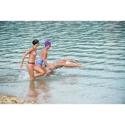 100 XBASE Swimming Goggles, Size L - Purple