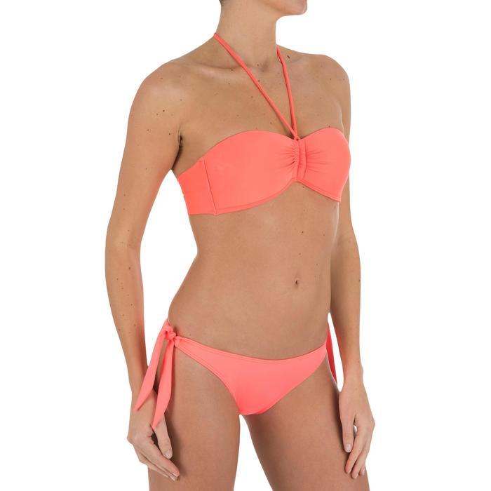 Haut de maillot de bain femme bandeau avec coques fixes LAETI - 709324