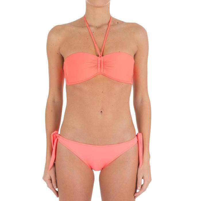 Haut de maillot de bain femme bandeau avec coques fixes LAETI - 709325