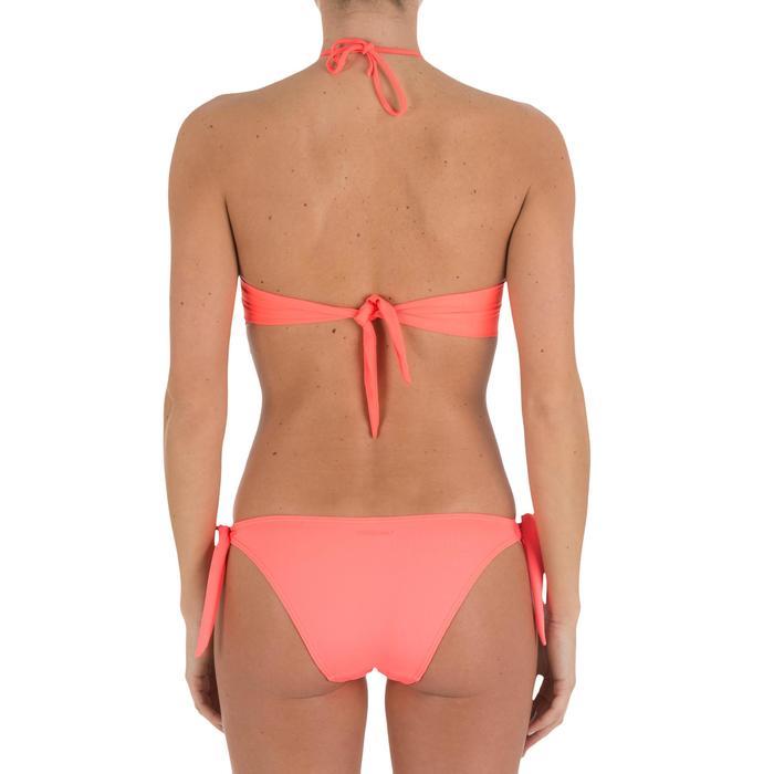 Haut de maillot de bain femme bandeau avec coques fixes LAETI - 709326