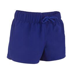 Boardshort dames Tana, effen met een elastische taille - 709373