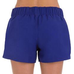 Boardshort dames Tana, effen met een elastische taille - 709385