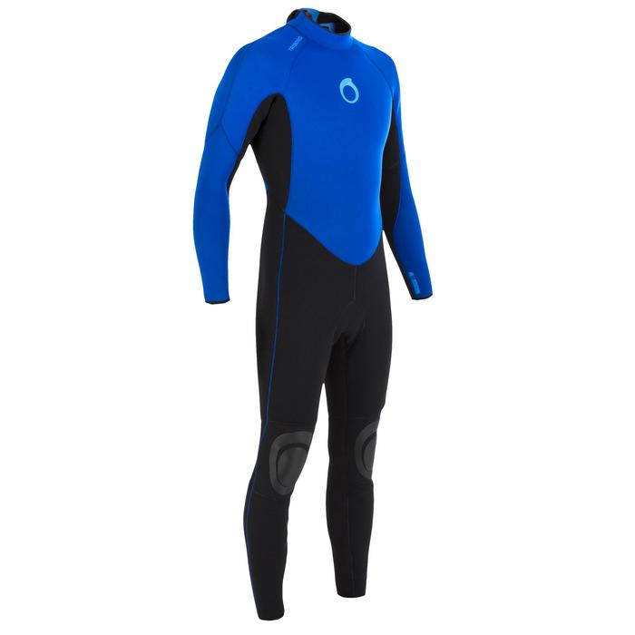 Heren wetsuit 100 neopreen 4/3 mm - 7096