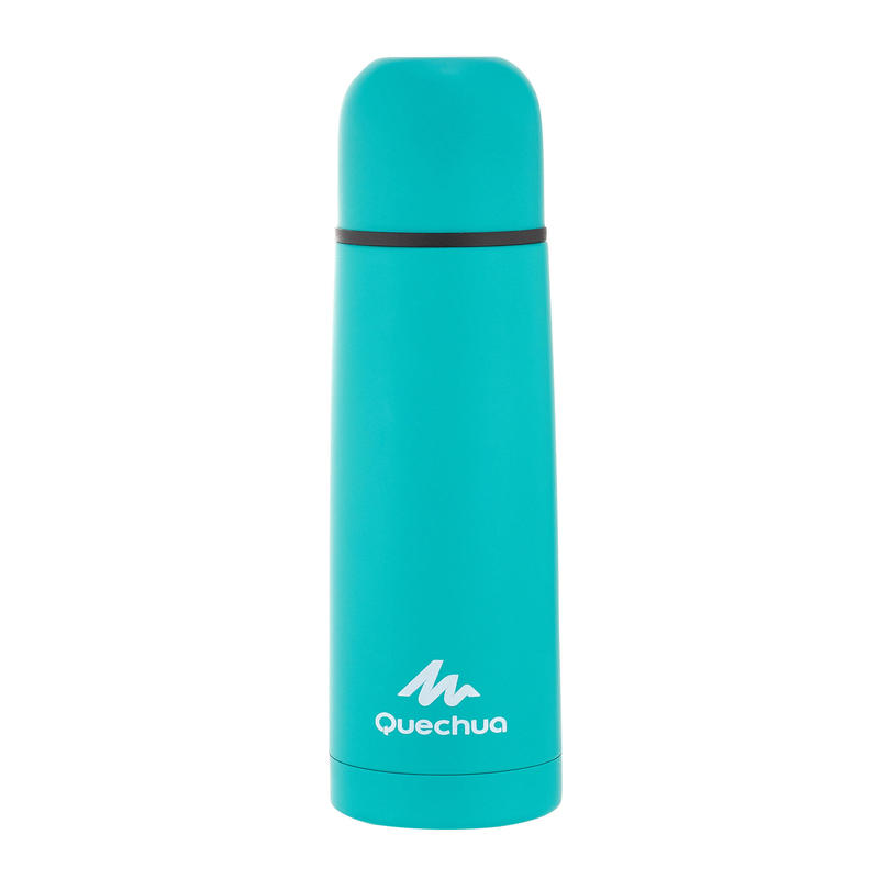 Insulated, Stainless Steel, Hiking Bottle, 0.4 L Green