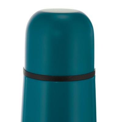 בקבוק מבודד לטיולים מפלדת אל חלד 0.4 ליטרים כחול