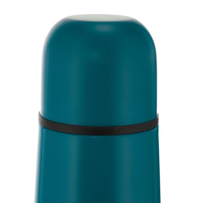 Isolatiefles voor wandelen roestvrij staal 0,4 liter blauw
