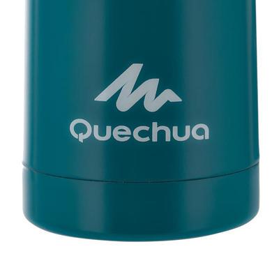 Termo Botella Acero Inoxidable Camping Quechua Isoterma 0,4 Litros Azul