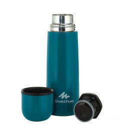 不鏽鋼健行保溫瓶0.4 L-藍色