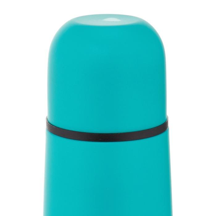 Botella isoterma senderismo acero inoxidable 0,4 L verde