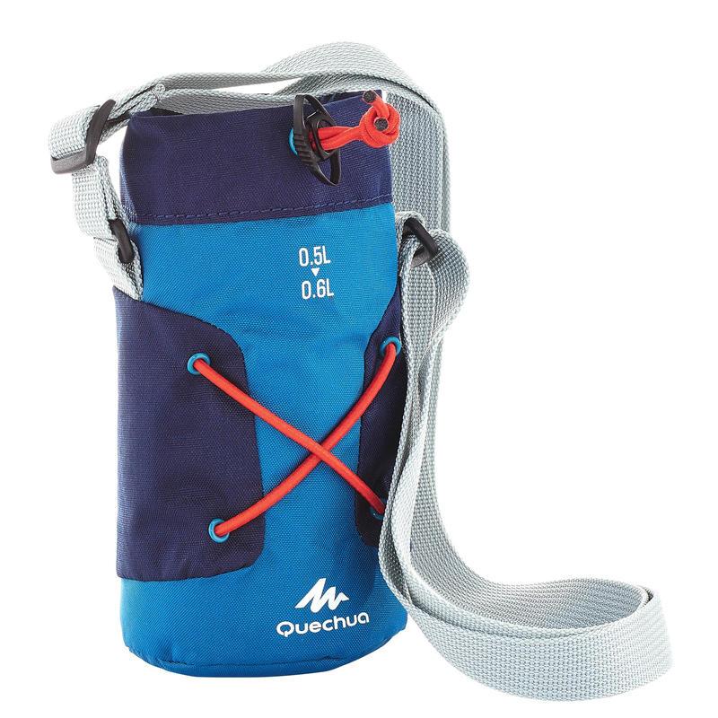 Túi cách nhiệt cho bình leo núi dã ngoại từ 0,5 - 0,6 lít - Xanh dương