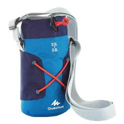 Funda isoterma para cantimplora de senderismo de 0,5 a 0,6 litros azul