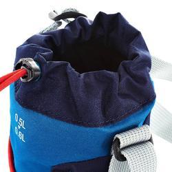Housse isotherme pour gourde randonnée 0,5 à 0,6 litre bleu