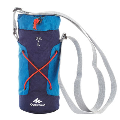 Isothermal Cover for Hiking Bottle 0.75 to 1 litres - Blue