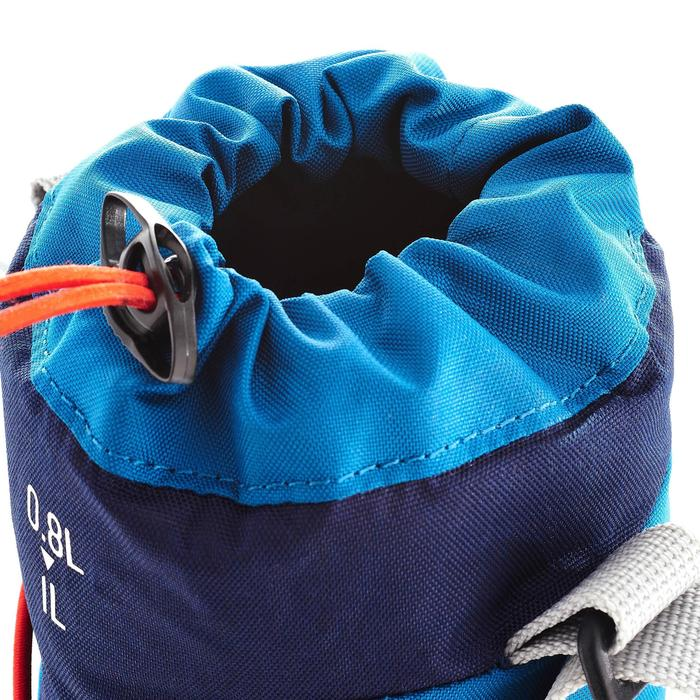 Funda isoterma para cantimplora de senderismo de 0,75 a 1 L azul