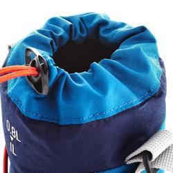 Housse isotherme pour gourde randonnée 0,75 à 1 litre bleu (old modèle)