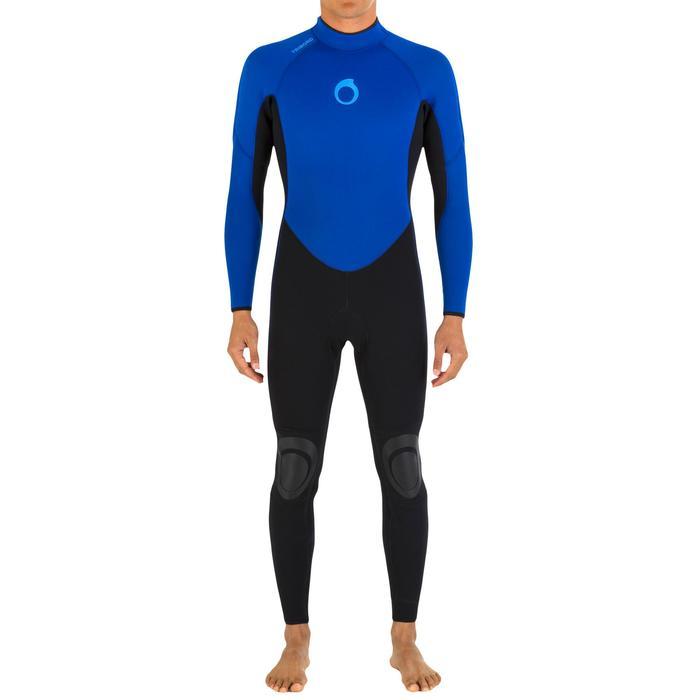 Neoprenanzug Surfen 100 4/3mm Herren blau
