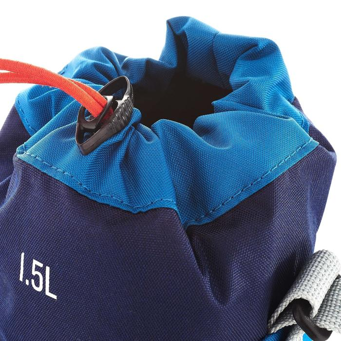 Funda isoterma para cantimplora senderismo 1,2 a 1,5 litros azul