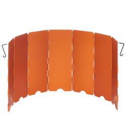 登山露營爐火擋風板-橘色