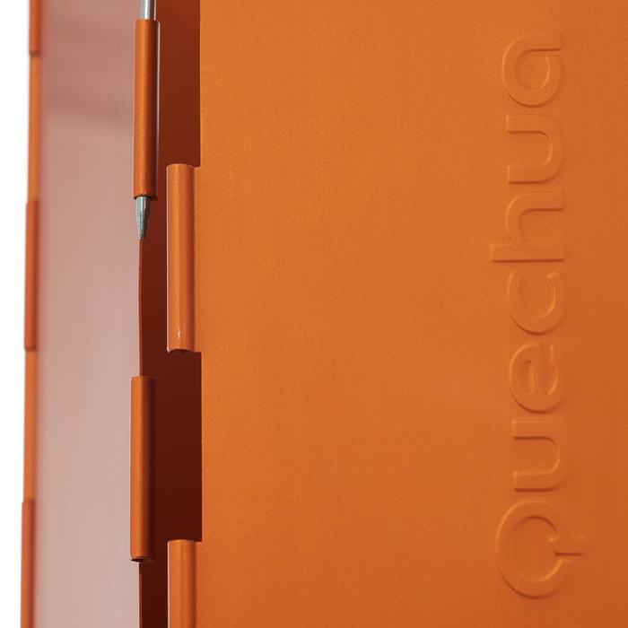 Windscherm voor kooktoestel oranje