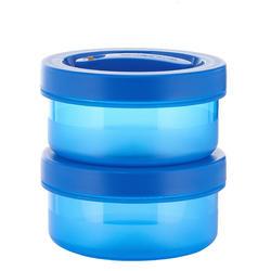 Isolerende voedselcontainer plastic 1,6 liter (met 2 bewaardoosjes) 1,6 liter - 709754