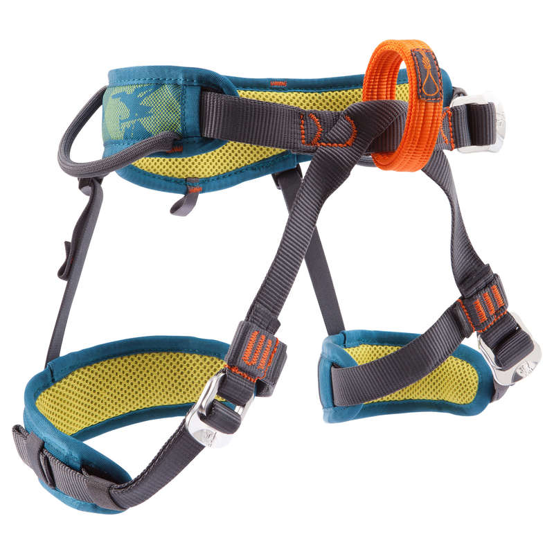 CLIMBING & MOUNTAINEERING HARNESS Climbing - KID'S HARNESS EASY JR SIMOND - Climbing