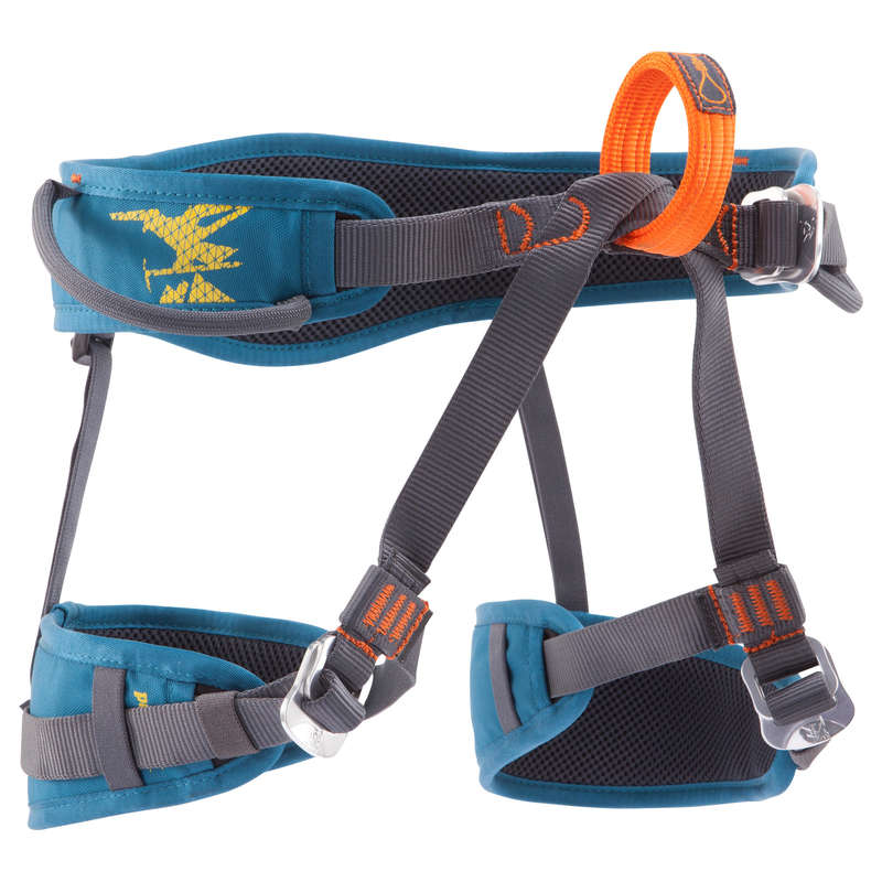 CLIMBING & MOUNTAINEERING HARNESS Climbing - EASY 3 CLIMBING HARNESS BLUE SIMOND - Climbing