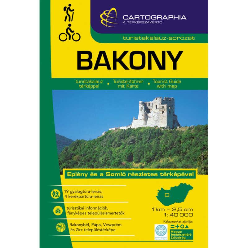 Térképek Túrázás - Bakony turistakalauz CARTOGRAPHIA - Túra felszerelés