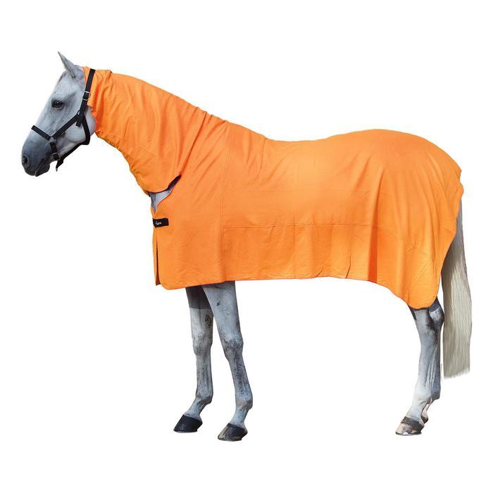 Chemise séchante équitation poney et cheval FULL NECK corail - 709933