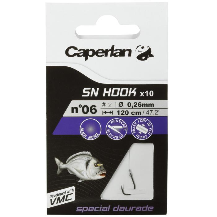Hameçons montés pêche SN HOOK daurade