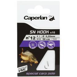 Hameçons montés pêche SN HOOK carp pole