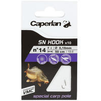 SN HOOK Carp Pole Rigged Hooks