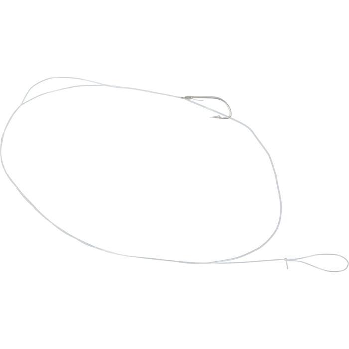 Gemonteerde vishaken SN Hook nikkel - 710406