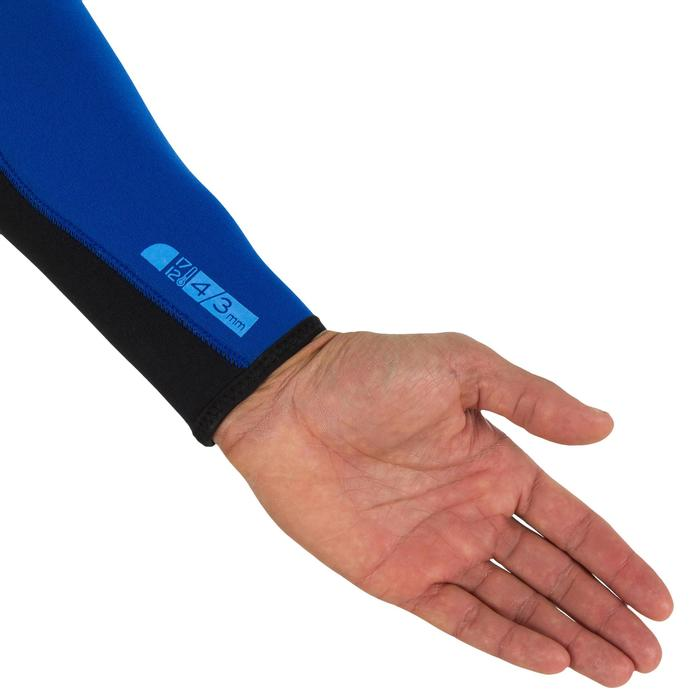 Heren wetsuit 100 neopreen 4/3 mm - 7107
