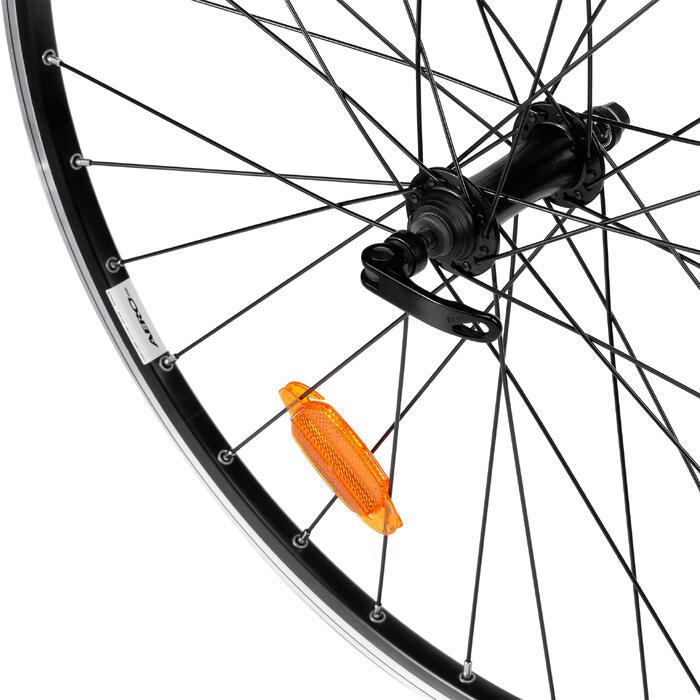 Rennrad-Vorderrad 650 schwarz