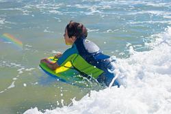 Uv-werende drijfhulp surfen en bodyboarden Alio 50 Newton kinderen - 710965