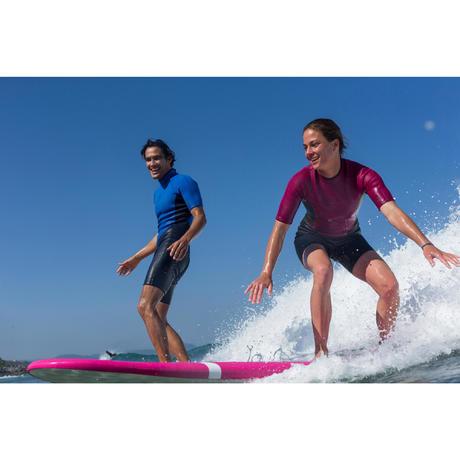 combinaison surf shorty 100 n opr ne femme violet. Black Bedroom Furniture Sets. Home Design Ideas