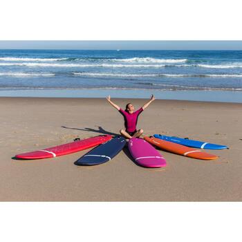 Combinaison Surf shorty 100 Néoprène Femme Violet